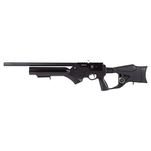 Wearable4U Air Rifle 6 Hatsan Barrage Semi Auto PCP Air Rifle with Included Wearable4U 100x Paper Targets and Lead Pellets Bundle