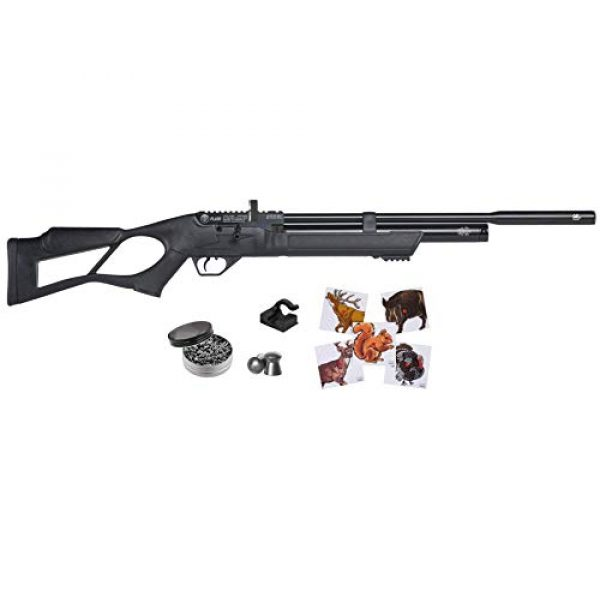 Wearable4U Air Rifle 1 Wearable4U Hatsan FlashQE .177 Cal Air Rifle with Included 100x Paper Targets and 500x .177cal Lead Pellets Bundle