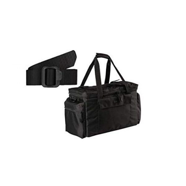 5.11 Tactical Backpack 1 5.11 Tactical Basic Patrol Bag 37 Liters, Adjustable/Removable Shoulder Strap, Style 56523 & Men's 1.5-Inch Convertible TDU Belt, Nylon Webbing, Fade-and Fray-Resistant, Style 59551 Black, X-Large