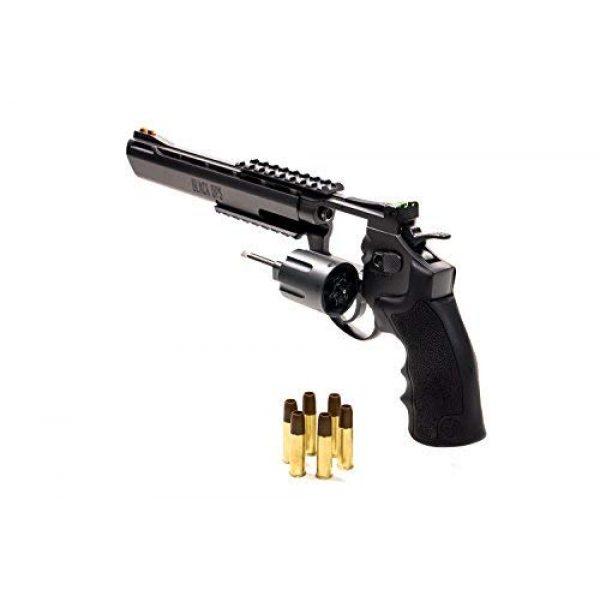 Black Ops Airsoft Pistol 3 Black Ops Exterminator Pistol - CO2 Pistol Revolver BB Gun Full Metal