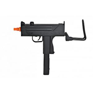 BBTac Airsoft Pistol 1 bbtac m42f airsoft smg folding wire stock 200 fps spring gun with 26 round clip/magazine(Airsoft Gun)