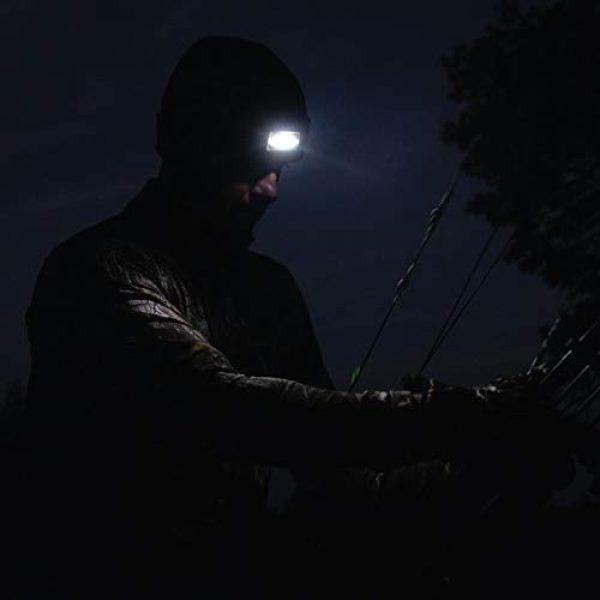 HOT SHOT Tactical Hat 4 HOT SHOT Men's Bolt Led Lighted Knit Beanie