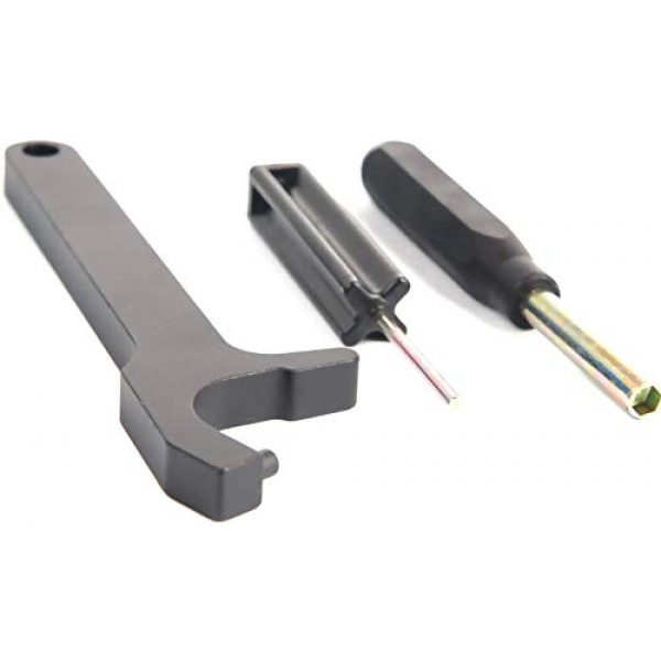 IORMAN Glock Pistol Take-Down Pin and Sight Tool 5 IORMAN 3 pcs Front Sight Installation Hex Tool and Pin Punch and Magazine Disassembly Tools for Glock