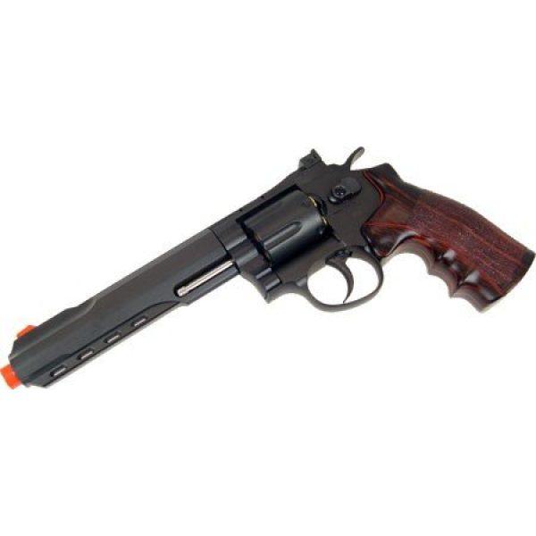 WG Airsoft Pistol 5 400 fps wg full metal m702 magnum high-powered co2 semi-automatic revolver airsoft pistol(Airsoft Gun)