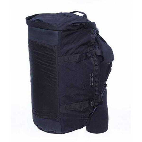 ForceProtector Gear Tactical Backpack 6 Hybrid Deployment Bag, Black