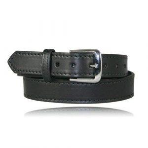 Boston Leather Tactical Belt 1 Boston Leather Dress Belt W/Stitched Edge 1.5inch Wide - 6582ST-1-40