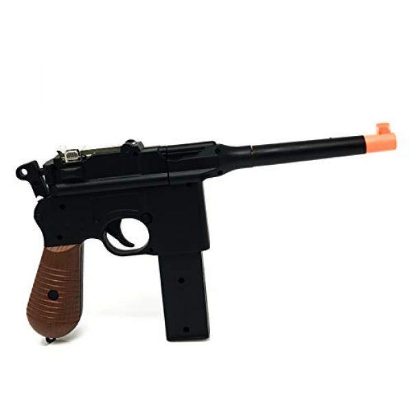 M32 Airsoft Pistol 5 WW2 New Airsoft Toy Gun German Mauser c69 Broomhandle with 2 Magazines Steampunk DIY