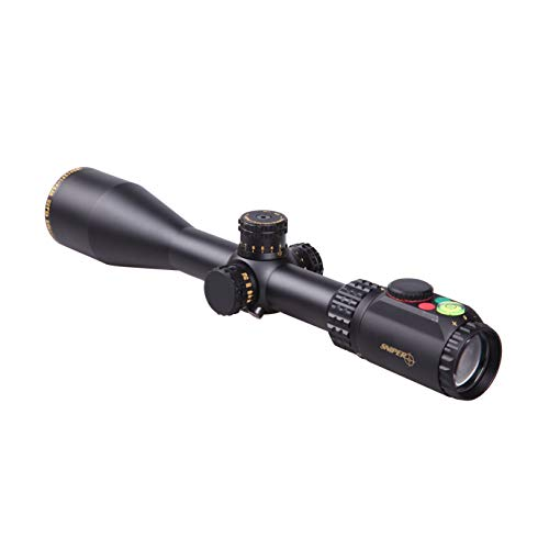 Sniper Rifle Scope 1 WKP4-16X50SAL Hunting Scopes Side Parallax Adjustment Glass Etched Reticle RG Illuminated with Bubble Level