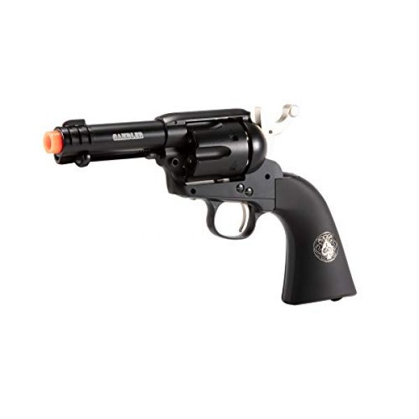 Wearable4U Airsoft Pistol 5 Wearable4U Umarex Limited Ed - Legends Gambler Custom Revolver Airsoft BB Airgun with 5X 12gr CO2 Tanks Pack of 1000 6mm EF BBS Bundle