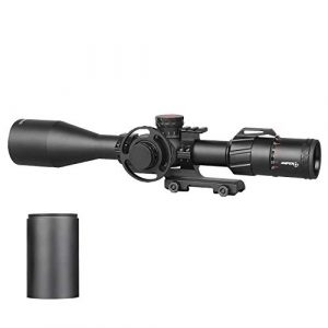 Sniper Rifle Scope 1 Sniper ZT 5-25x50 FFP First Focal Plane (FFP) Scope with Red/Green Illuminated Reticle