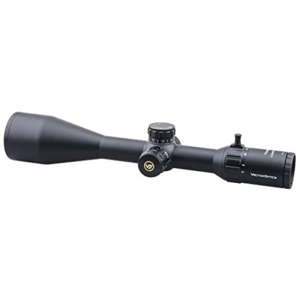Vector Optics Rifle Scope 1 Vector Optics Paragon 5-25x56mm, 1/10 MIL, 30mm Tube, Red Illuminated Second Focal Plane (SFP) Tactical Riflescope Genii