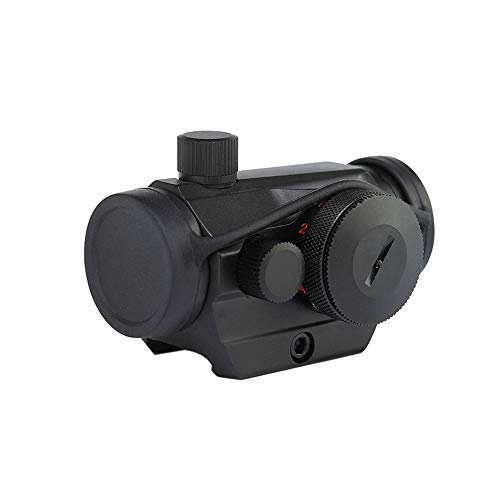 DJym Rifle Scope 1 DJym Blue Film 1X Sight, High-Definition Red Dot Sight, Shockproof and Anti-Fog, Waterproof Fast Sight