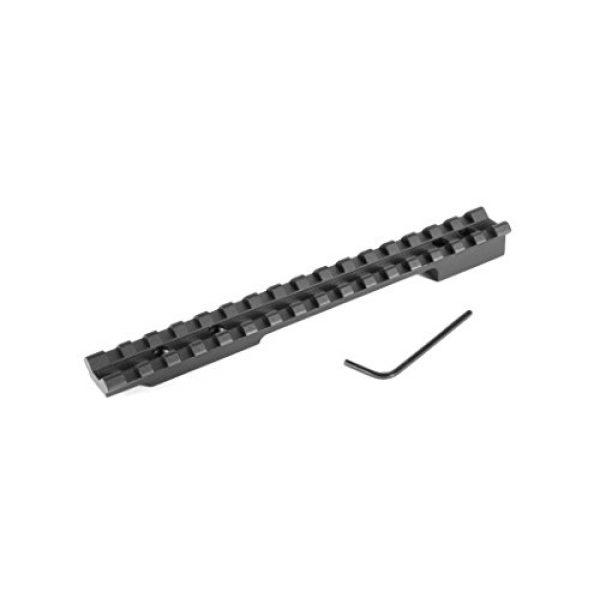 Evolution Rifle Scope 1 EVOLUTION Gun Works Mauser 98 Large Ring 0 MOA Picatinny Rail Scope Mount (47000)