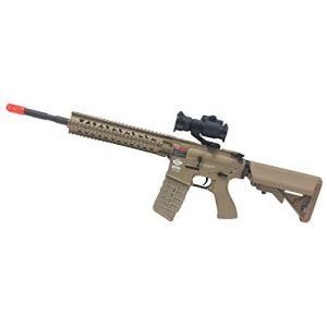 AirsoftAlpha Airsoft Rifle 1 G&G CM-16 R8 L Tan (Airsoft Gun)