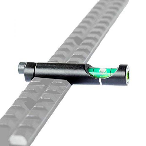 COLIBROX Rifle Scope Accessory 4 Metal Spirit Bubble Level for 20 mm Picatinny Weaver Rail Rifle Sight Scope Mount