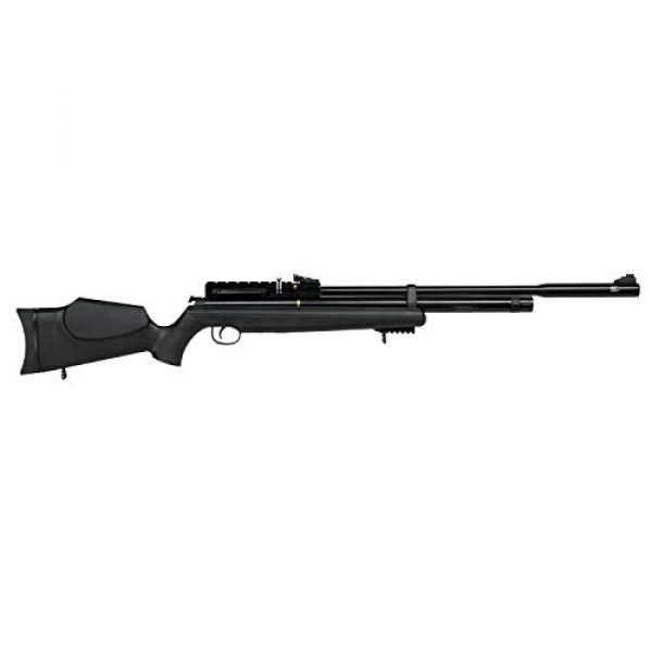 Wearable4U Air Rifle 3 Hatsan AT44S10 QE Open Sight Air Rifle with Included Wearable4U 100x Paper Targets and Lead Pellets Bundle
