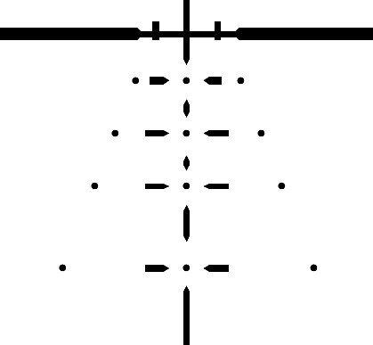Tract Rifle Scope 6 Tract Toric 3-15x50 Riflescope w/BDC Reticle Long Range Hunting Optics
