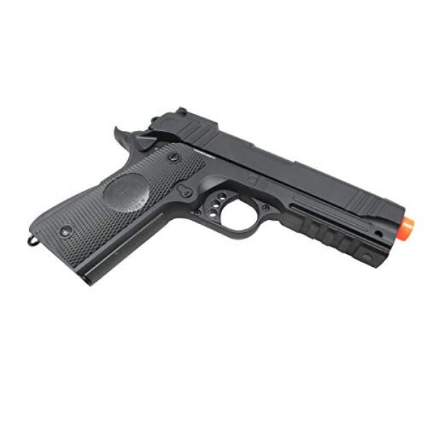 JG Airsoft Pistol 3 JG / Golden Eagle 3022 Full Metal 4.3 Hi-Capa 1911 RIS Airsoft Spring Pistol