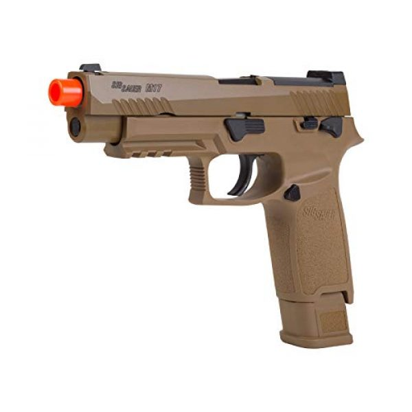 Sig Sauer Airsoft Pistol 1 Sig Sauer, SIG AIR, ProForce M17 Gas Blowback Airsoft Pistol, Coyote Tan, One Size