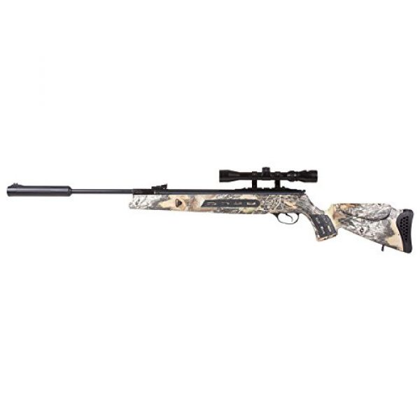 Hatsan Air Rifle 2 Hatsan Model 125SN Camo Vortex QE Combo .177 Airgun, Mossy Oak Breakup