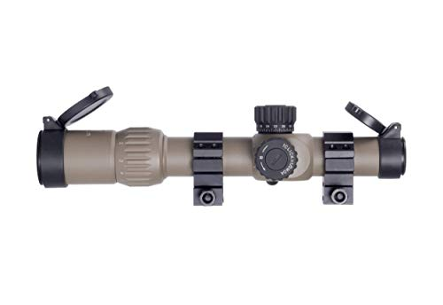 Monstrum Rifle Scope 5 Monstrum G3 1-6x24 First Focal Plane FFP Rifle Scope with Illuminated MOA Reticle