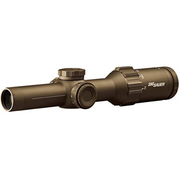 Sig Sauer Rifle Scope 1 Sig Sauer SOT61231 Tango6T Riflescope, 1-6X24mm, 30mm, Ffp, Black, One Size