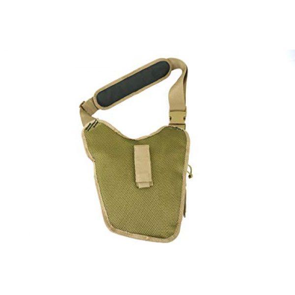 K-Cliffs Tactical Backpack 4 Rapid Deployment Push Pack Tactical Range Bag Responders Utility Sling Bags Tan