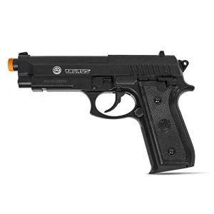Taurus Airsoft Pistol 1 Taurus PT92 CO2 Airsoft Pistol with Hop-Up, 377 FPS, Black, 1.9 pounds (210308)