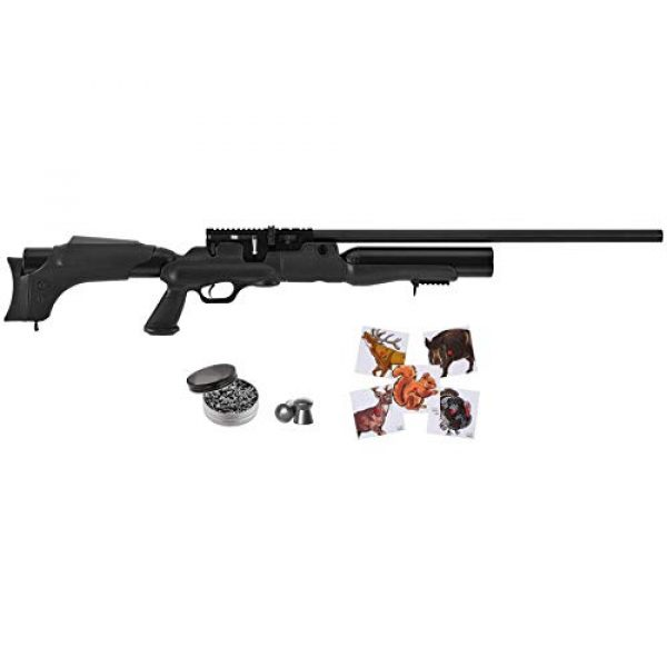 Wearable4U Air Rifle 1 Hatsan Hercules Air Rifle with Included Wearable4U 100x Paper Targets and Lead Pellets Bundle