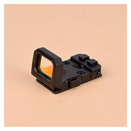 Without Rifle Scope 5 Toy Gun Sight Red dot Sight Magnification Flip red dot Sight Reflex Sight RMR Scope Holder, Used for MOS or Sliding Cut Accept RMR Pistola 1913 Assembly Scope (Color : Tan and 1913 Mount)