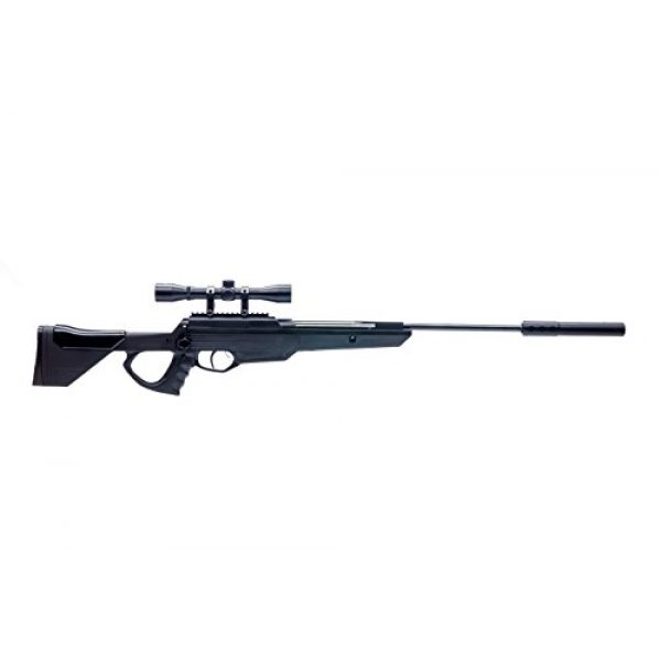 Bear River Air Rifle 3 Bear River TPR 1300 Suppressed Hunting Air Rifle - .177 Airgun - Pellet Gun with Scope and Silencer Included