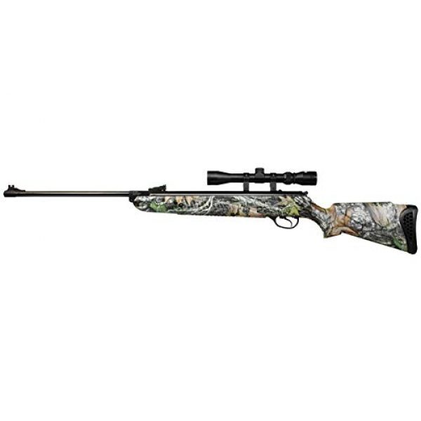 Wearable4U Air Rifle 7 Hatsan Mod 85 Spring Camo Combo Air Rifle with Wearable4U 100x Paper Targets and Lead Pellets Bundle