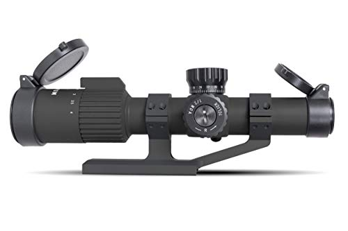 Monstrum Rifle Scope 1 Monstrum G3 1-4x24 First Focal Plane FFP Rifle Scope | ZR305 H-Series Offset Scope Mount | Bundle