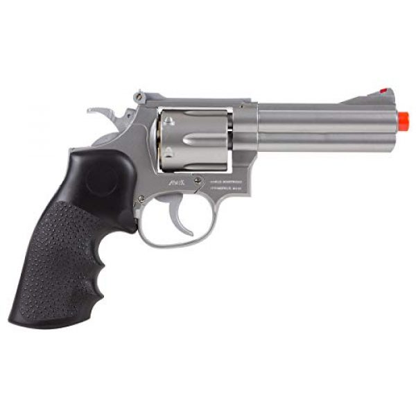 UHC Airsoft Pistol 3 TSD Sports UA933S 4 Inch Spring Powered Airsoft Revolver (Silver)