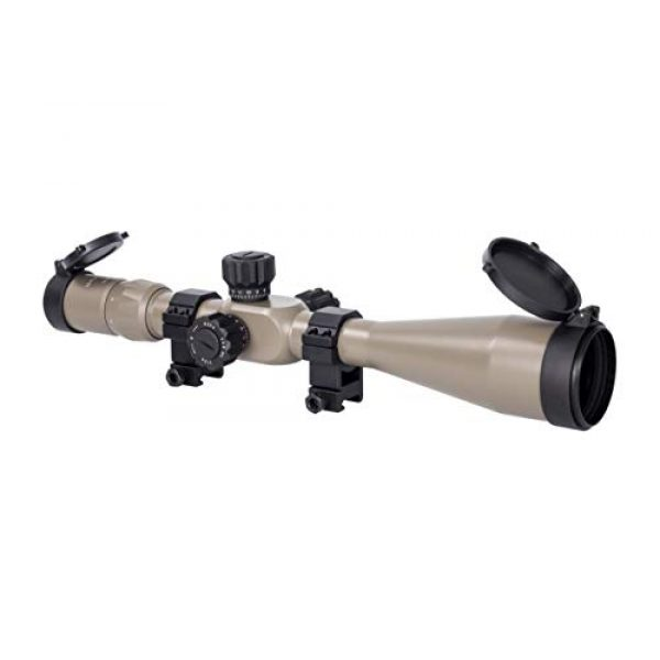 Monstrum Rifle Scope 1 Monstrum Tactical 6-24x50 Rifle Scope with First Focal Plane (FFP) MOA Reticle and Adjustable Objective Lens