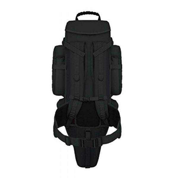 East West U.S.A Tactical Backpack 3 East West U.S.A RT538/RTC538 Tactical Molle Military Assault Rucksacks Backpack, Black