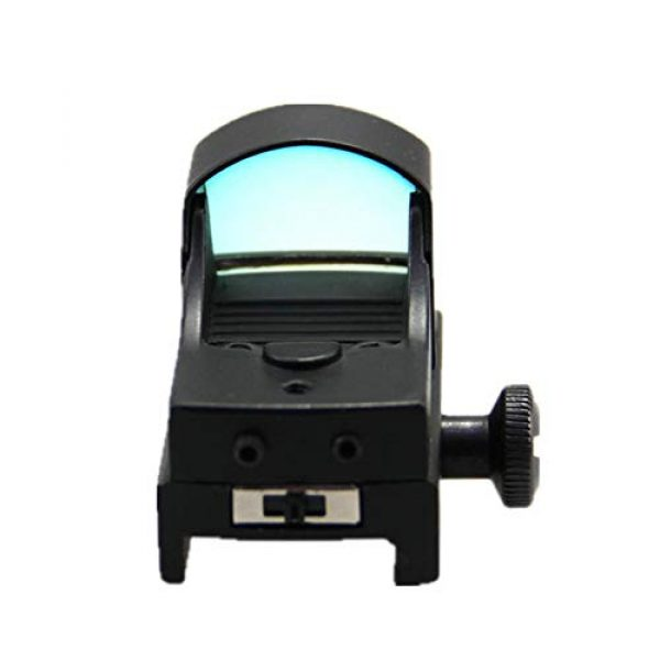 DJym Rifle Scope 3 DJym Tactical Mini Micro Red Dot Sight Red Dot Scope for Hunting with 22mm Mount