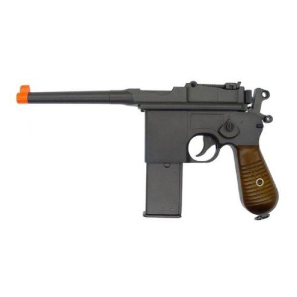 Velocity Airsoft Airsoft Pistol 1 HFC box cannon 196 gas airsoft pistol green gas blowback fps-395(Airsoft Gun)
