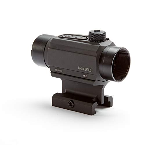 Hi-Lux Optics Rifle Scope 3 Hi-Lux Optics MM-2 Dot Sight Absolute Cowitness Mount, Red