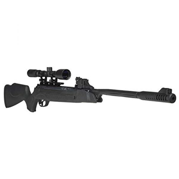 Wearable4U Air Rifle 4 Hatsan SpeedFire Air Rifle, Black with Included Wearable4U 100x Paper Targets and Lead Pellets Bundle