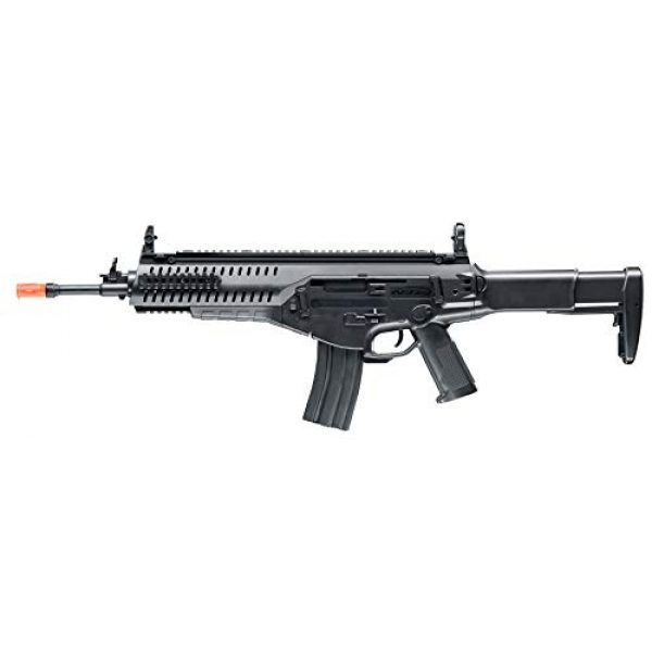 Wearable4U Airsoft Rifle 4 Wearable4U Umarex EF Beretta Arx 160 AEG Competition Electric Air Soft BB Rifle with Included Battery and Charger Pack of 1000ct BBS Bundle (Black)
