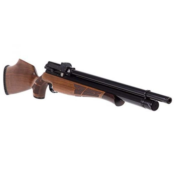 Air Arms Air Rifle 2 Air Arms S510 XS FAC .22 Caliber Sidelever Regulated PCP Air Rifle Carbine, Walnut