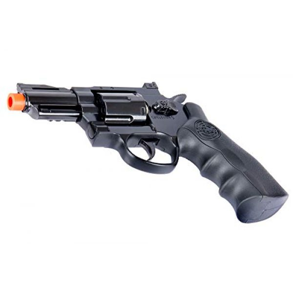 SRC Airsoft Pistol 5 SRC 2.5 INCH Barrel Titan CO2 Gas Airsoft GBB Cowboy Metal Revolver (Black)