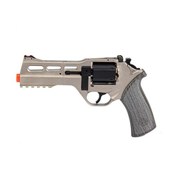 Lancer Tactical Airsoft Pistol 1 Lancer Tactical Limited Edition Airsoft Pistol Chiappa Rhino 50DS CO2 Revolver Silver 328 FPS