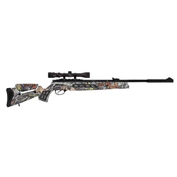 Wearable4U Air Rifle 2 Wearable4U Hatsan MOD 125 Sniper Vortex QE Quiet Energy .177 Cal Air Rifle, Camo with Included 100x Paper Targets and 500x .177cal Lead Pellets Bundle