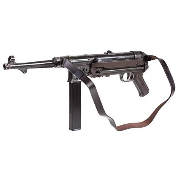 Umarex Air Rifle 2 Umarex Weathered MP40 Full Auto CO2 Submachine BB Gun Bundle with 1500 BBS and 12 CO2 Cartridges