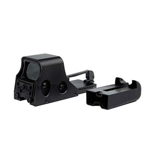 DJym Rifle Scope 3 DJym HD 1X Magnification Red Dot Sight, 22mm Rail Waterproof Shockproof Sight