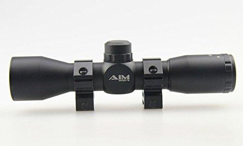 TACFUN Rifle Scope 5 TACFUN - AIM Tactical MIL-DOT Reticle Compact Scope/w Rings