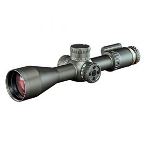 Revic Rifle Scope 1 Revic PMR 428 4.5-28x56 Smart Riflescope, 34 inch Tube, MOA RT1 Reticle, Gray, Left Handed