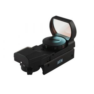 Aim Sports Rifle Scope 1 AIM Sports Dual III. Sight with 4 Different Reticles